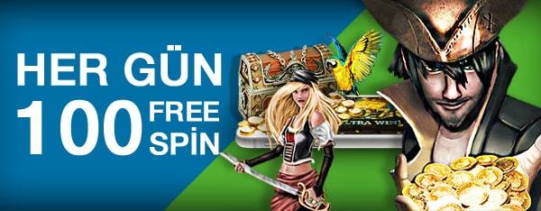 Superbetin Her Gün 100 Free Spin