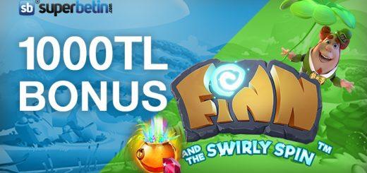 Her Gün Slot Oyunlarında 1000 TL Bonus