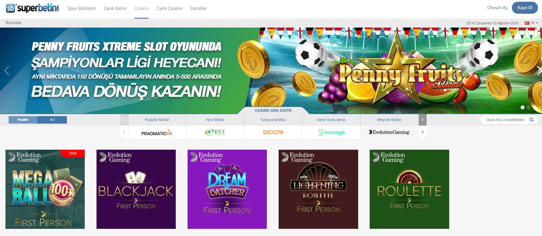 Süperbetin Casino Yeni Adresi